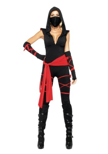 Click Here to buy Sexy Deadly Ninja Costume from HalloweenCostumes, CDN Funds