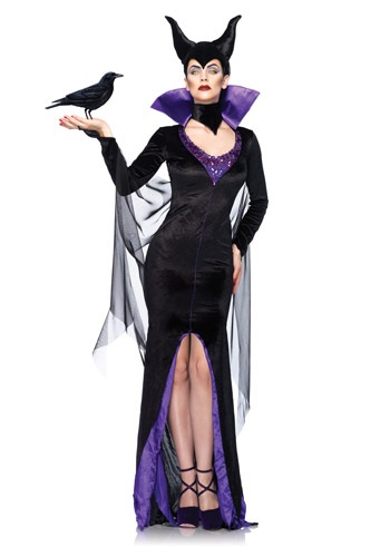 Click Here to buy Womens Disney Maleficent Costume from HalloweenCostumes, USA Funds & Shipping