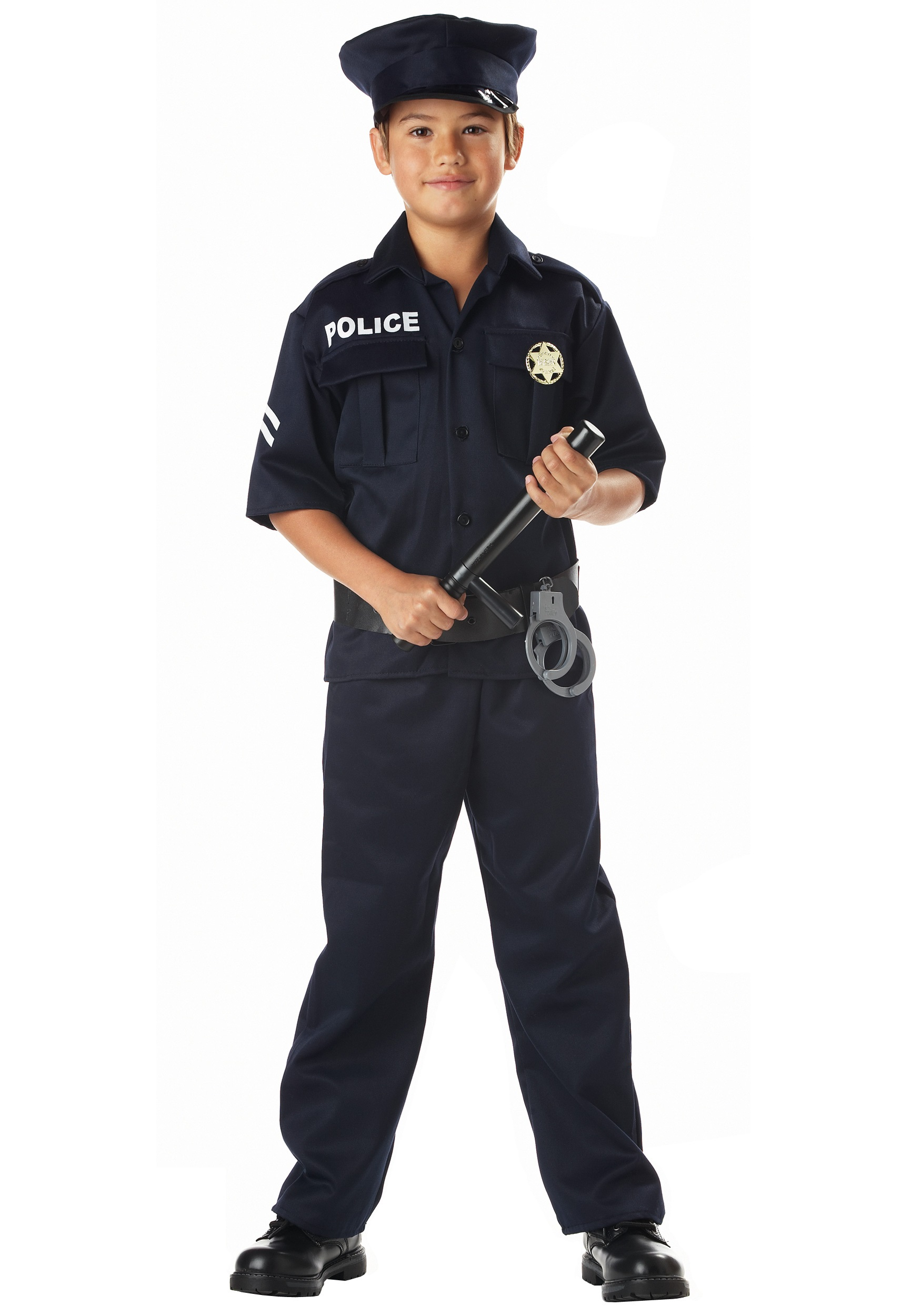 Kidu0027s Police Costume  sc 1 st  Halloween Costumes & Police Officer and Cop Costume - Adults Sexy Kid Police Costume