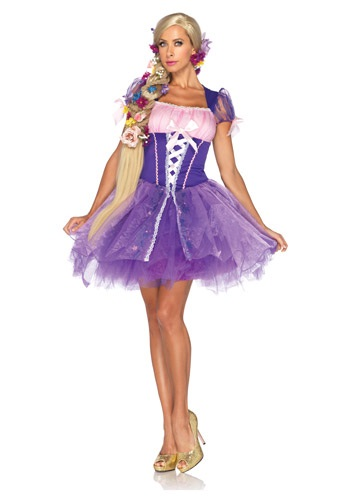 Womens Disney Rapunzel Costume
