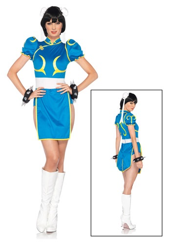 Chun-Li Women's Costume from Street Fighter