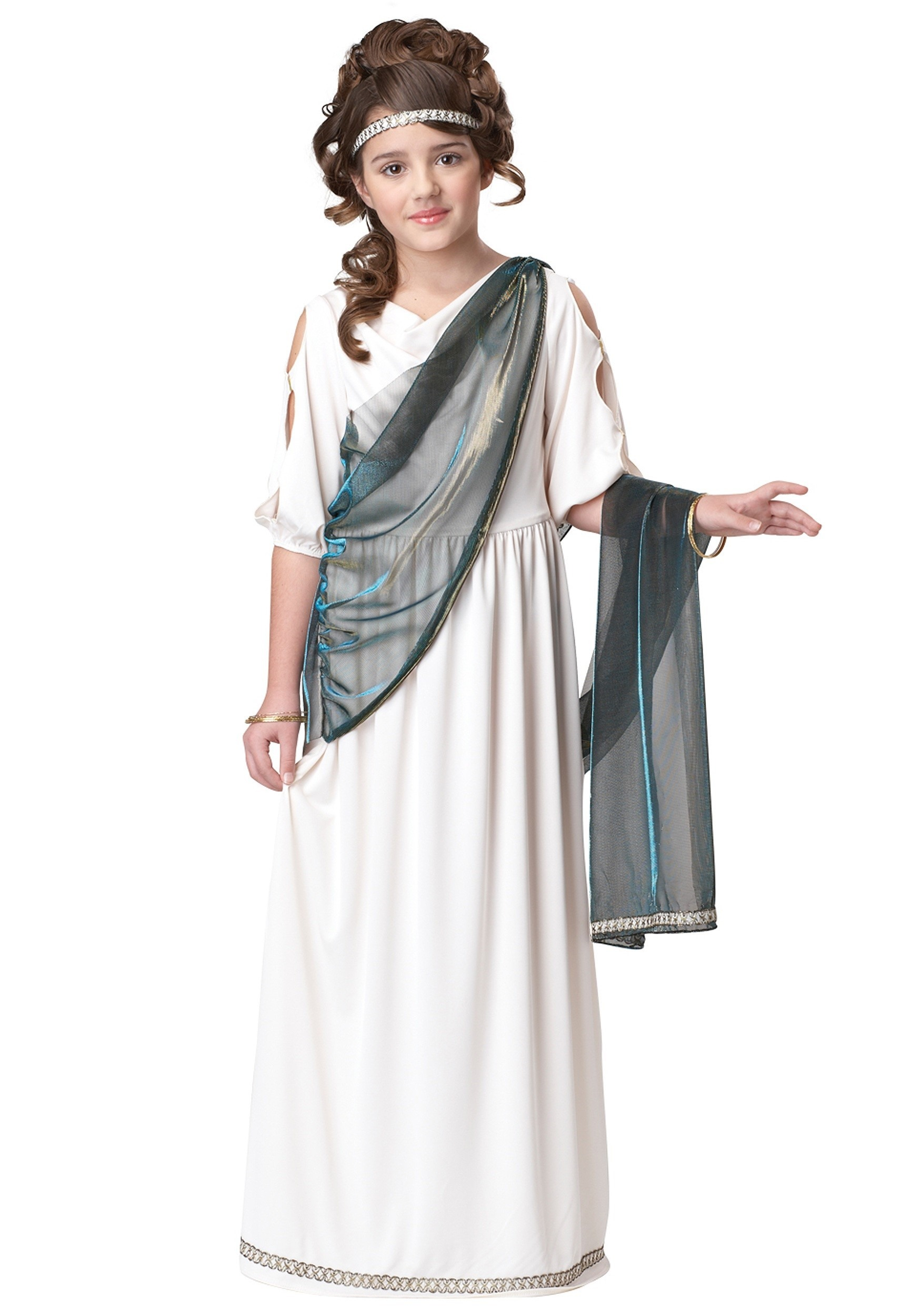 sc 1 st  Halloween Costumes & Girls Roman Princess Costume