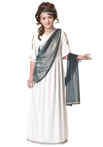 Click Here to buy Girls Roman Princess Costume from HalloweenCostumes, CDN Funds