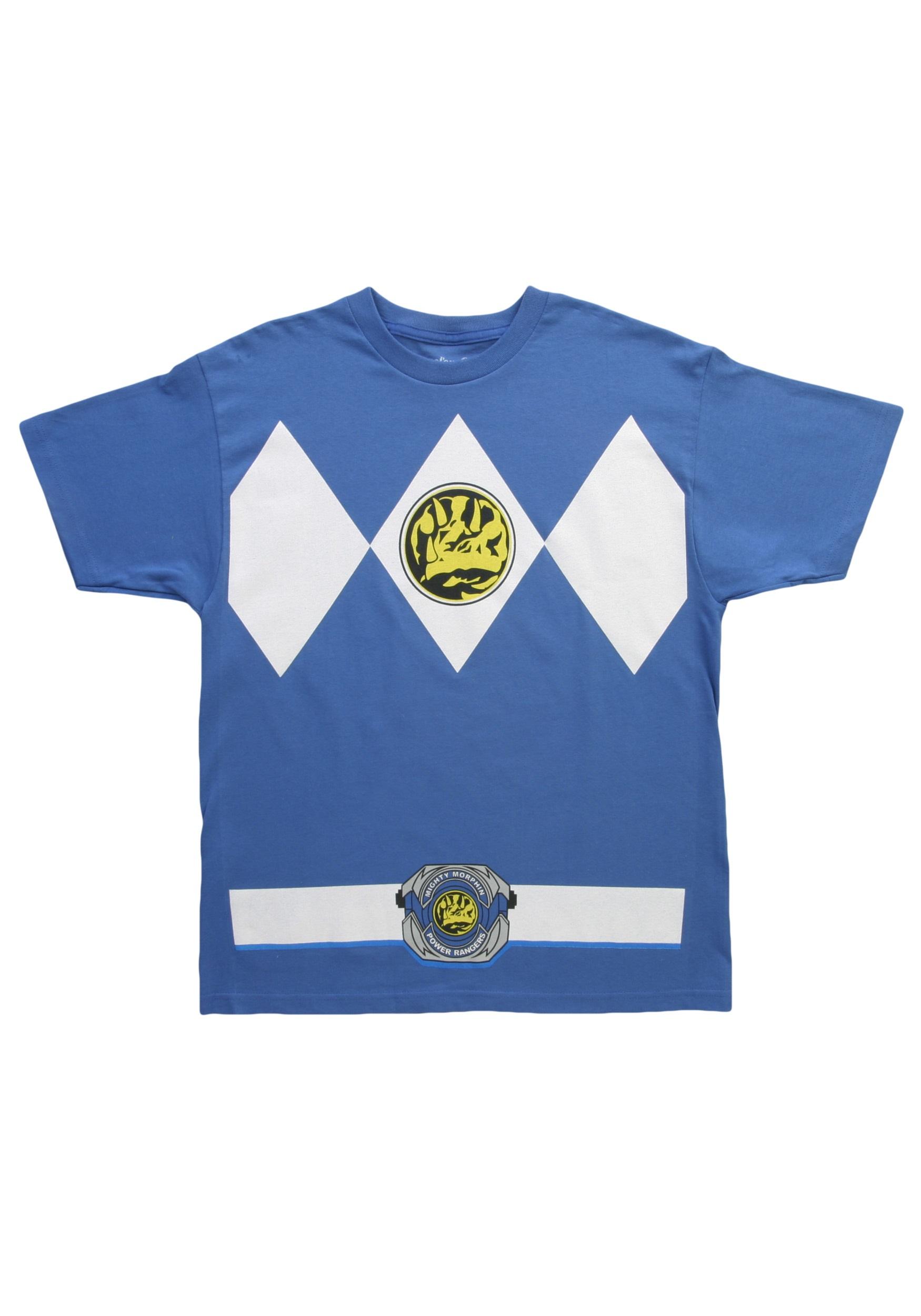 Blue Power Ranger T Shirt