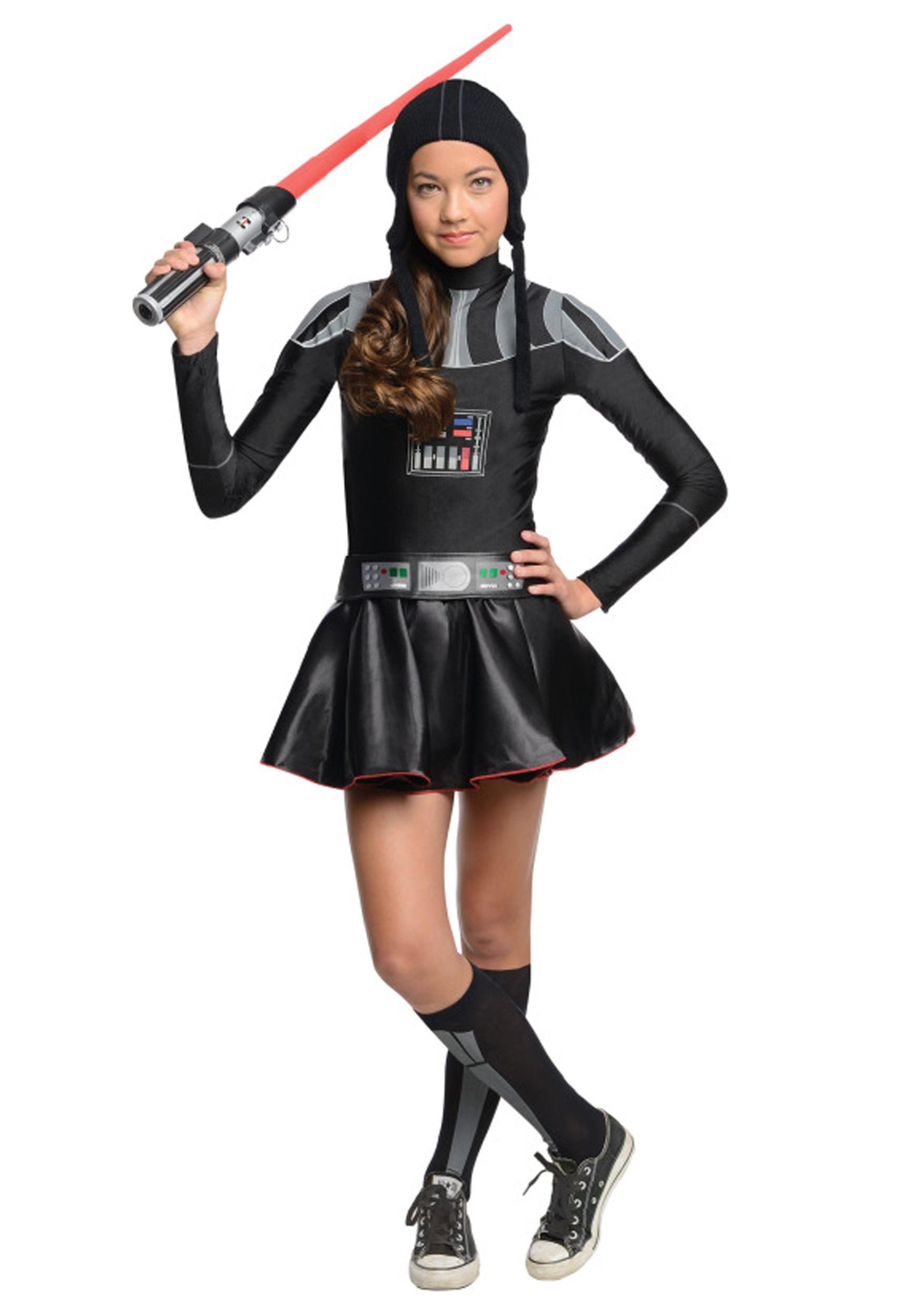Halloween costumes for teens tweens halloweencostumes darth vader tween dress costume solutioingenieria Image collections