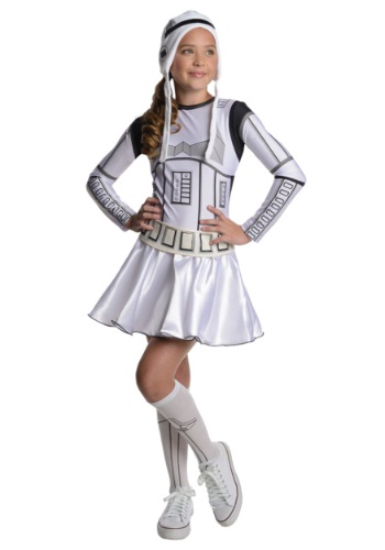 Click Here to buy Stormtrooper Tween Dress Costume from HalloweenCostumes, USA Funds & Shipping