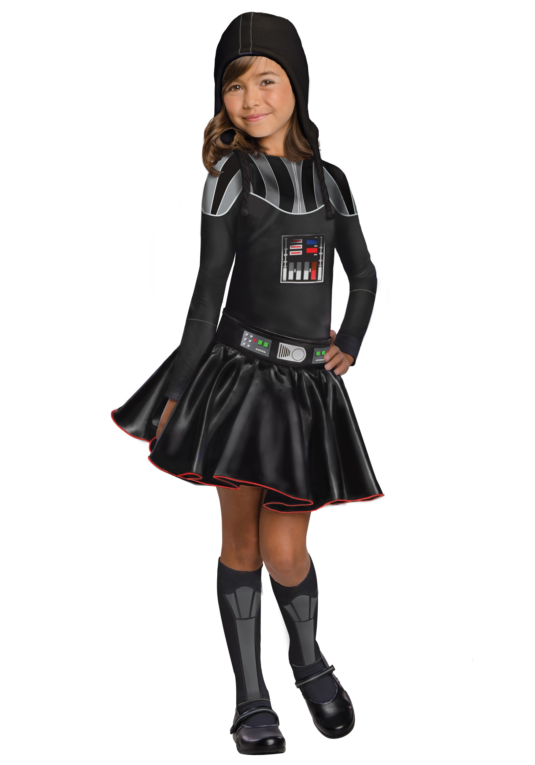 darth vader girls halloween costumes costume ideas dress star wars father costume kid. Black Bedroom Furniture Sets. Home Design Ideas