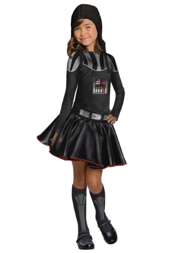 Darth Vader Girls Dress Costume By: Rubies Costume Co. Inc for the 2015 Costume season.