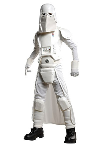 sc 1 st  Halloween Costumes & Deluxe Kids Snow Trooper Costume