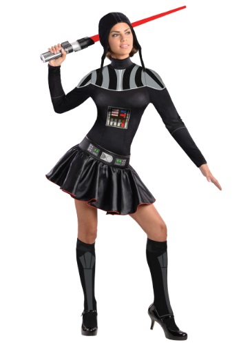 Click Here to buy Adult Darth Vader Dress Costume from HalloweenCostumes, CDN Funds