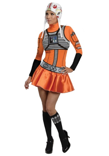 Adult X-Wing Fighter Dress Costume By: Rubies Costume Co. Inc for the 2015 Costume season.