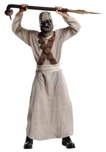 Deluxe Adult Tusken Raider Costume By: Rubies Costume Co. Inc for the 2015 Costume season.