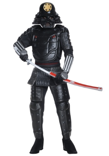Click Here to buy Samurai Darth Vader Costume from HalloweenCostumes, USA Funds & Shipping