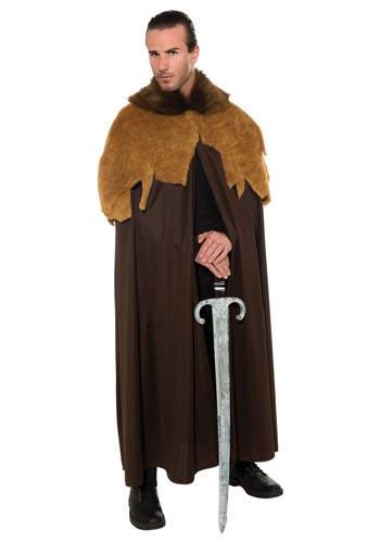 Click Here to buy Mens Medieval Warrior Cloak from HalloweenCostumes, USA Funds & Shipping