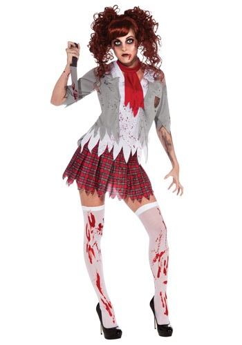Buying Zombie School Girl Costume Online