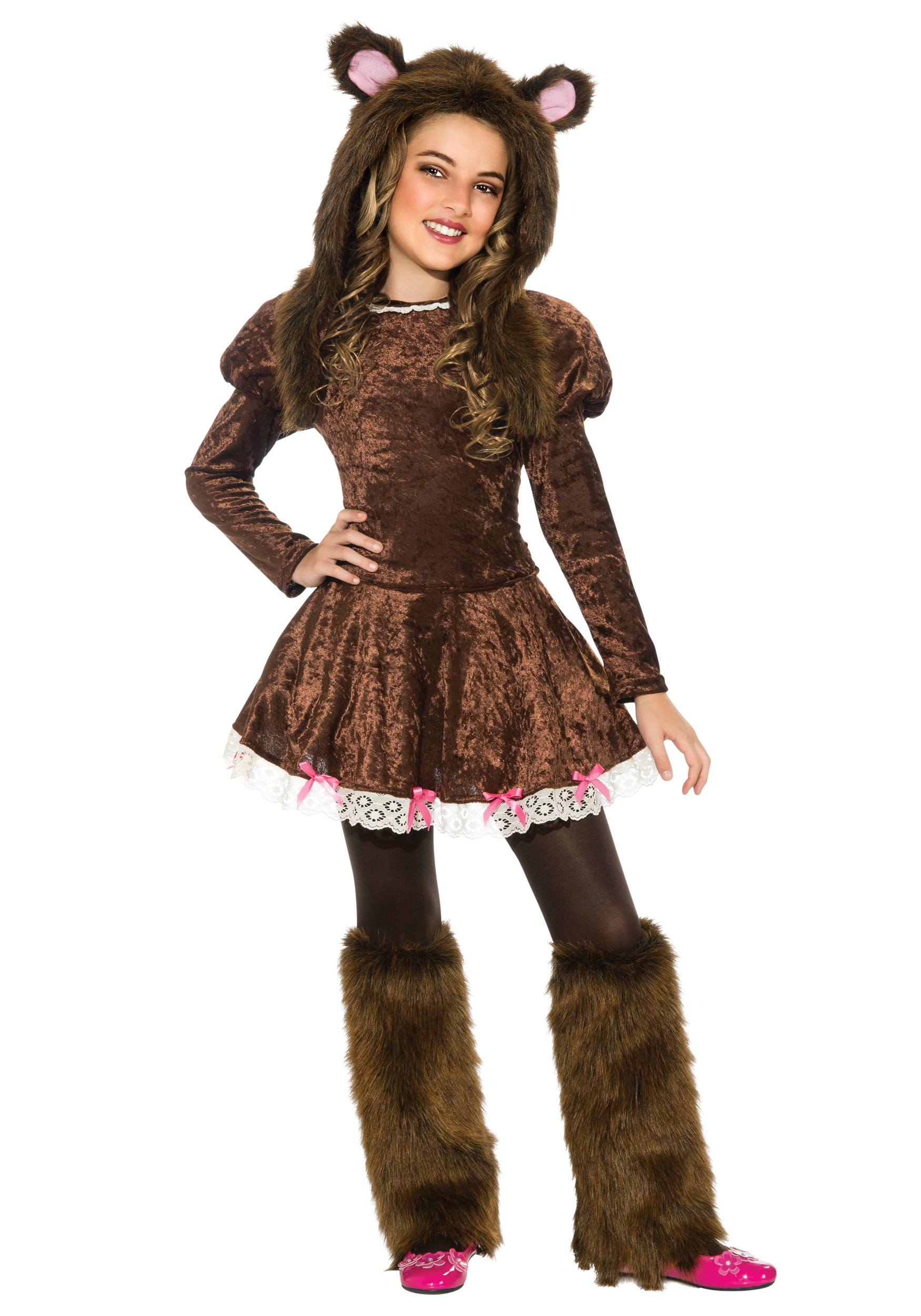 Beary adorable girls costume for Cool halloween costumes for kids girls