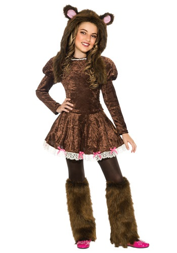 Click Here to buy Beary Adorable Girls Costume from HalloweenCostumes, CDN Funds