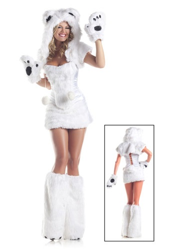 8 pc Deluxe Polar Bear Costume By: Be Wicked for the 2015 Costume season.