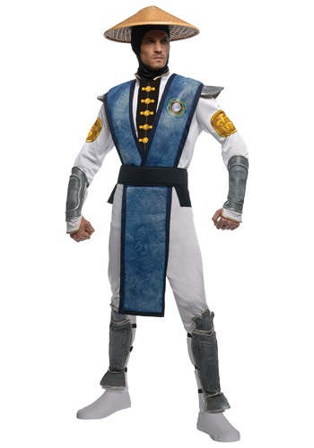 Click Here to buy Mortal Kombat Deluxe Raiden Costume from HalloweenCostumes, CDN Funds