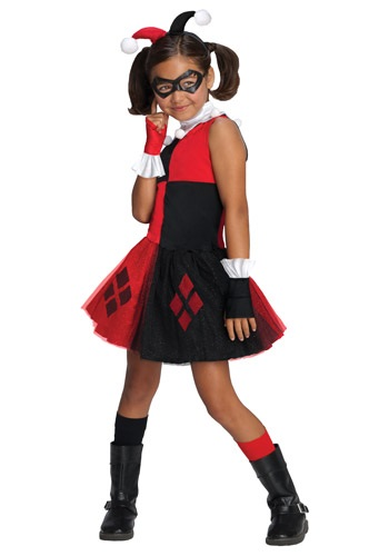 Click Here to buy Girls Harley Quinn Tutu Costume from HalloweenCostumes, CDN Funds