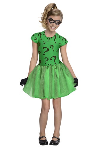 Girls Riddler Tutu Costume