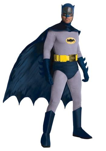 Click Here to buy Batman Classic Series Grand Heritage Costume from HalloweenCostumes, CDN Funds