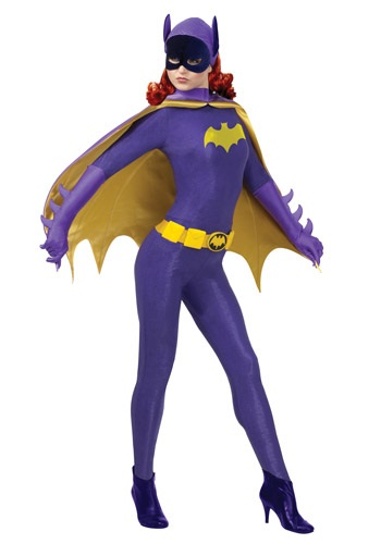 Click Here to buy Batgirl Classic Series Grand Heritage Costume from HalloweenCostumes, CDN Funds