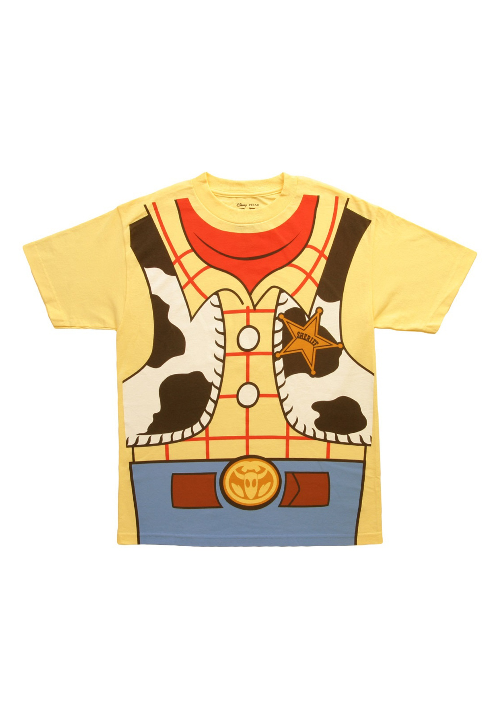 Toy Story Woody Cowboy Costume Shirt