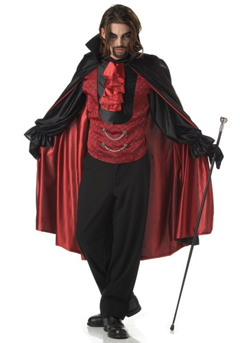 Click Here to buy Vampire Costume from HalloweenCostumes, USA Funds & Shipping