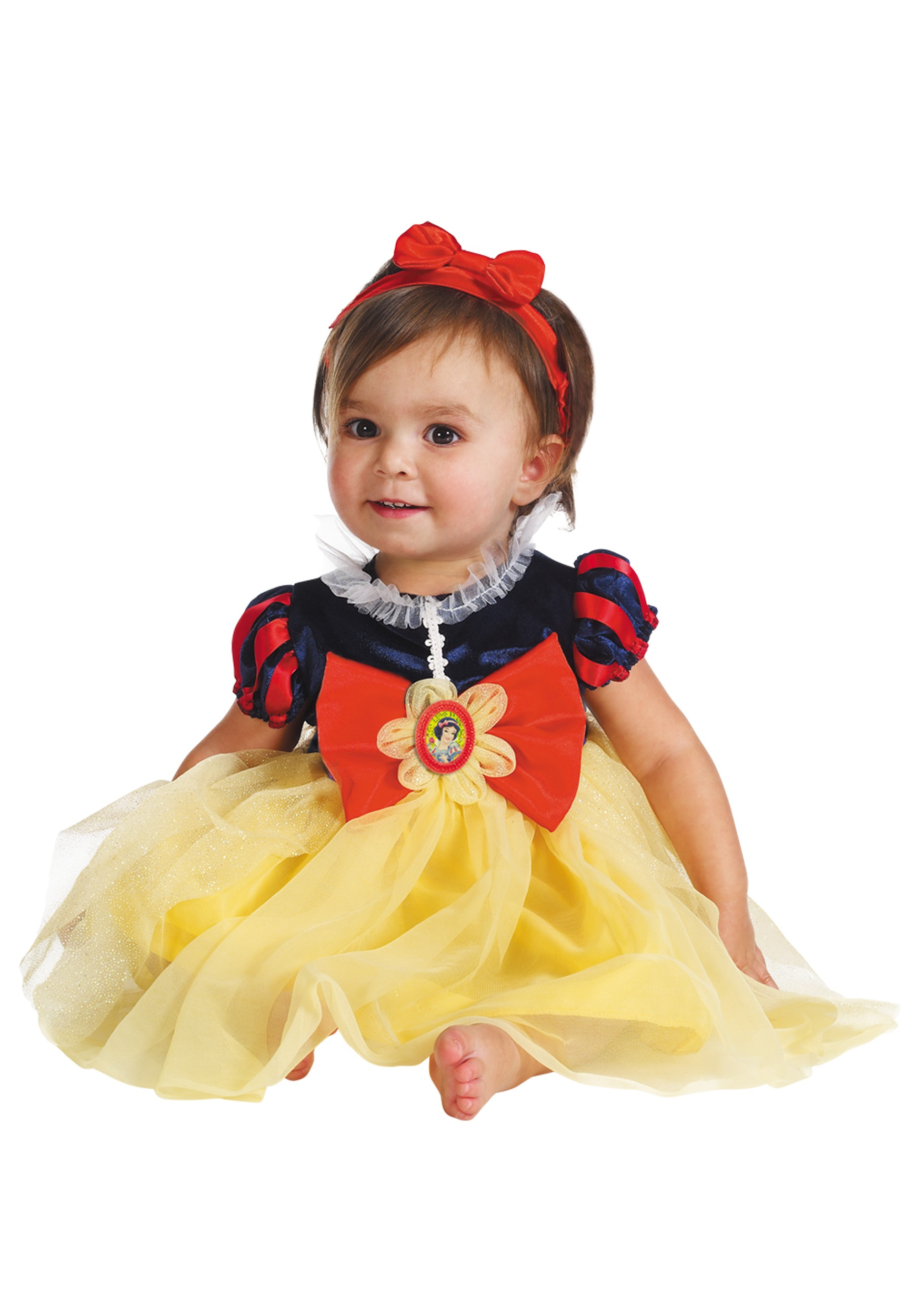 infant snow white my first disney costume. Black Bedroom Furniture Sets. Home Design Ideas