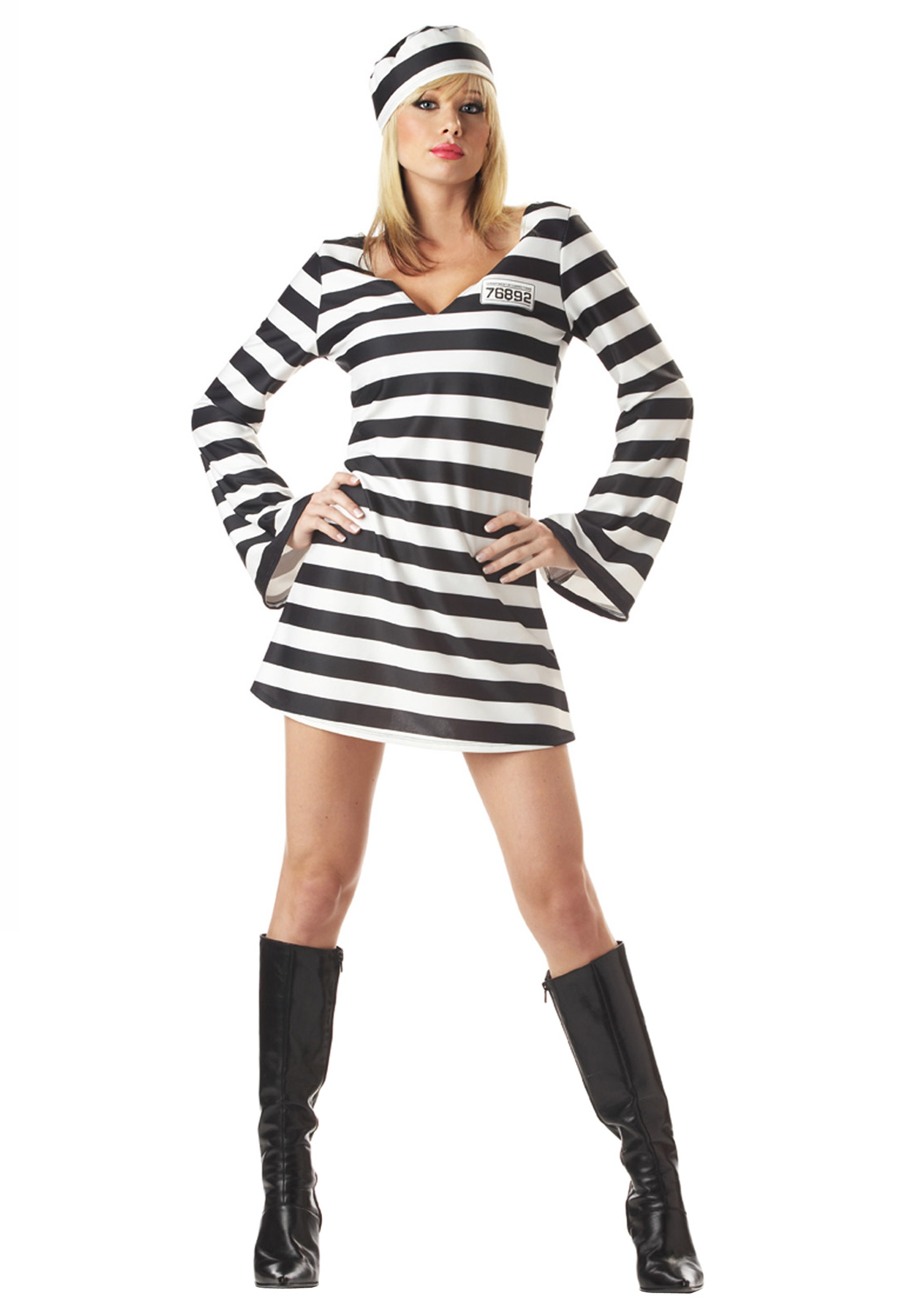 sc 1 st  Halloween Costumes & Womenu0027s Prisoner Costume