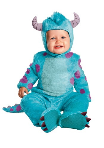 Image  Sulley Classic Infant Costume