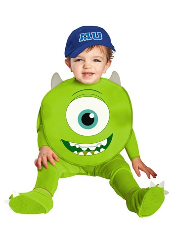 Click Here to buy Mike Classic Baby Costume from HalloweenCostumes