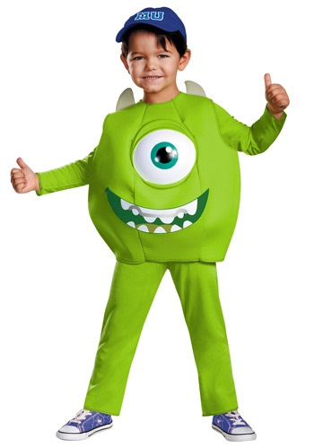 Click Here to buy Mike Toddler Deluxe Costume from HalloweenCostumes, CDN Funds