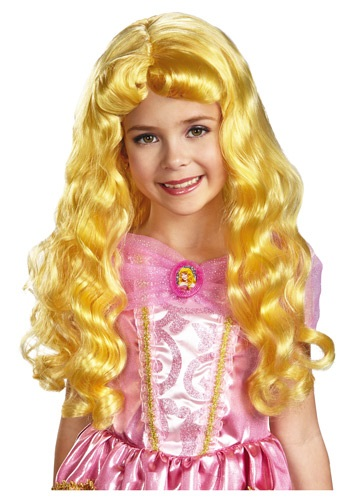 Disney Princess Sleeping Beauty Aurora Child Wig