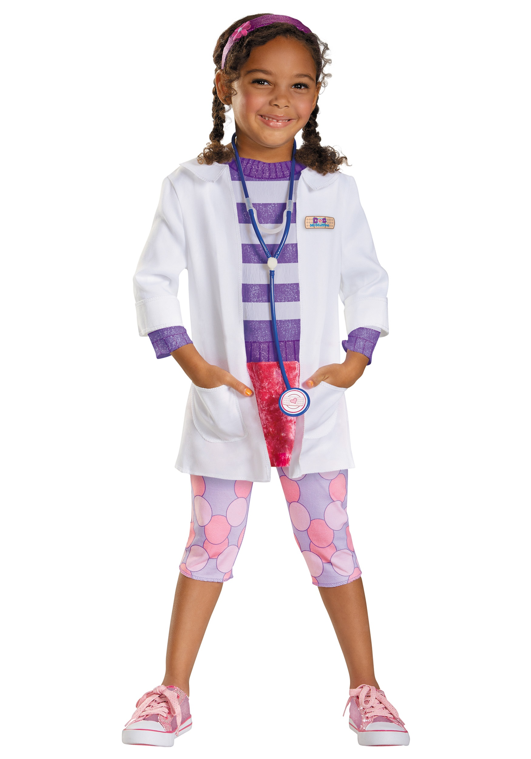 Toddler doc mcstuffins deluxe costume