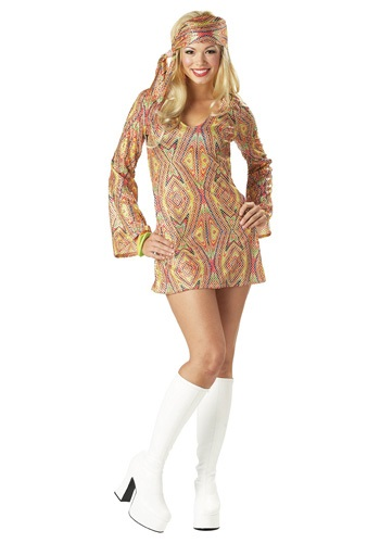 Click Here to buy Sexy Disco Costume from HalloweenCostumes, CDN Funds