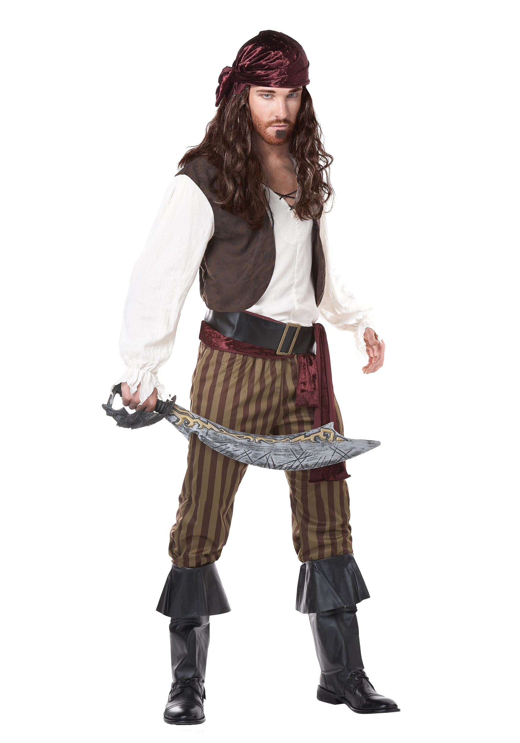 Rogue Pirate Halloween Costume Men's Rogue Pirate Costume$38