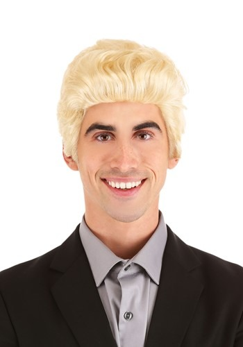 Blonde Salesman Wig 1