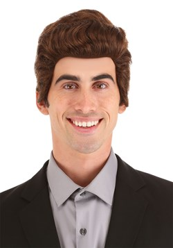 Brown Salesman Wig 1