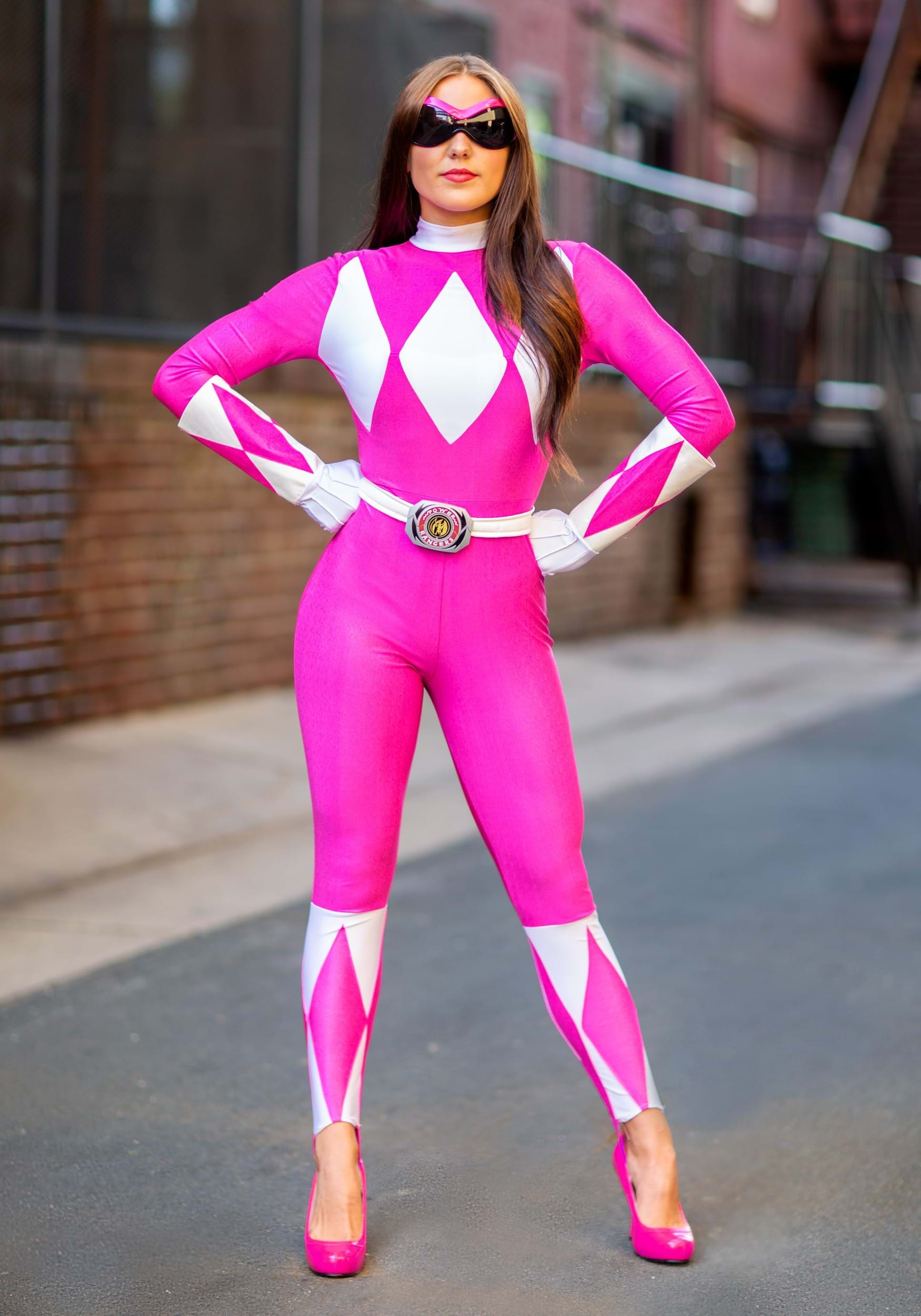 sexy pink ranger costume