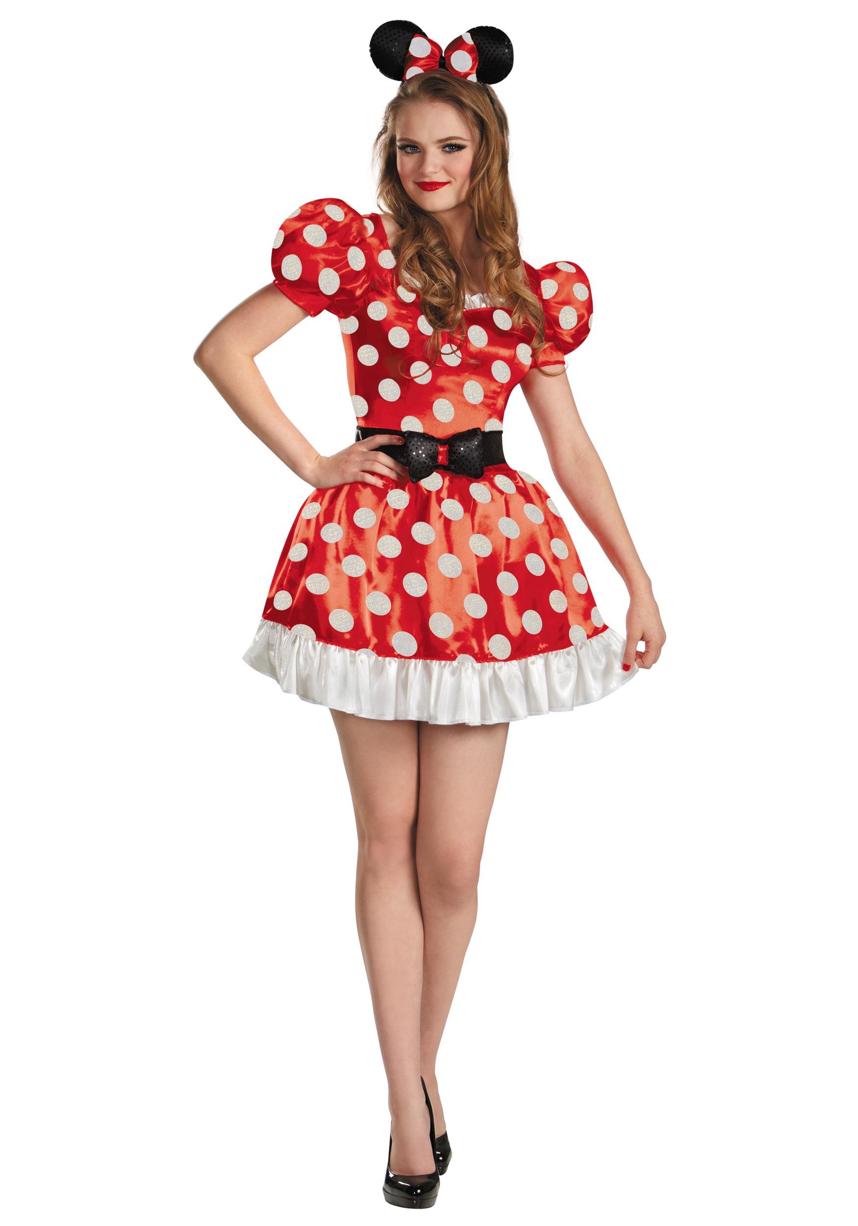 3124facc101 Plus Size Red Minnie Classic Costume