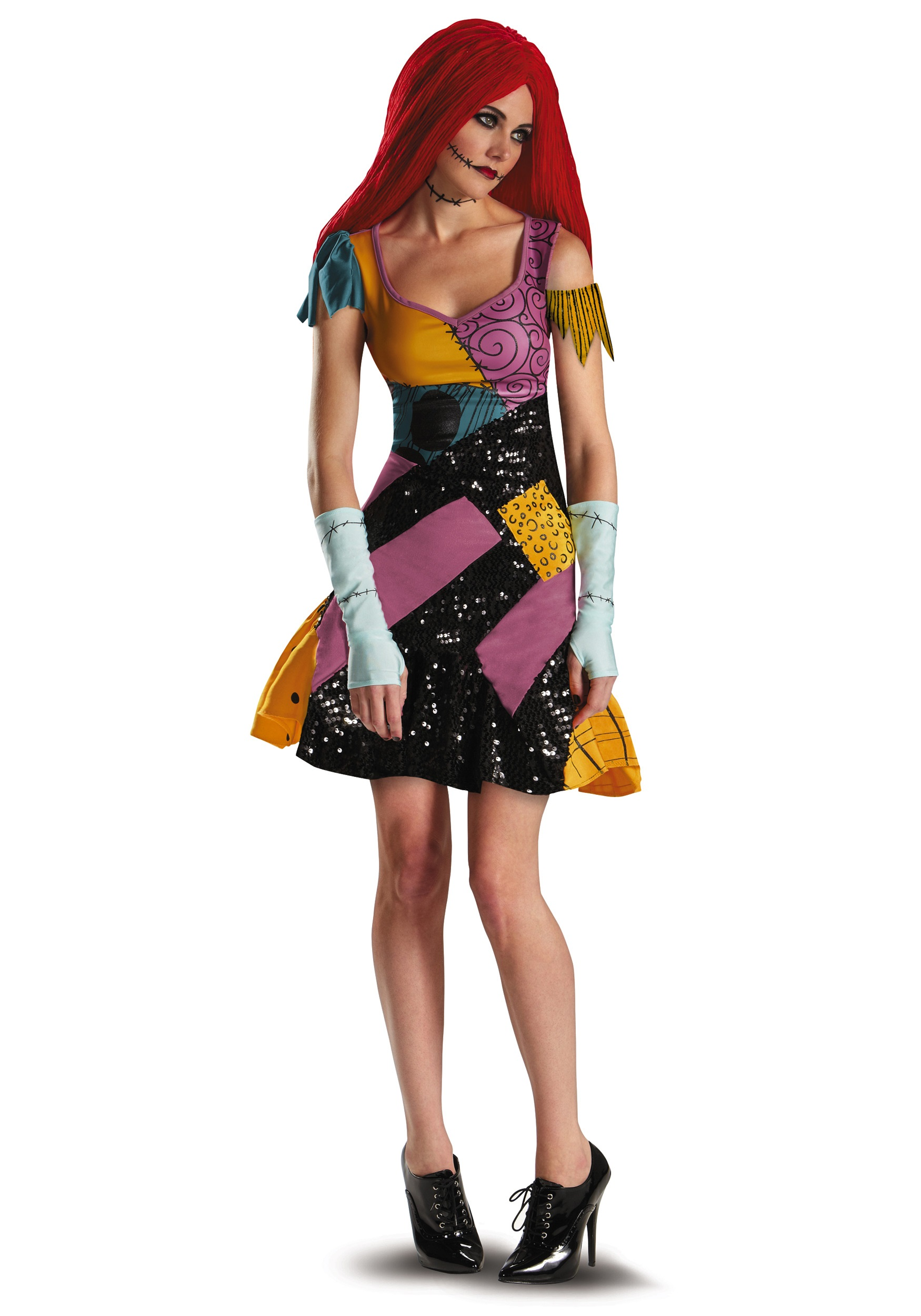 Christmas gown ideas 70s halloween - Sally Glam Costume