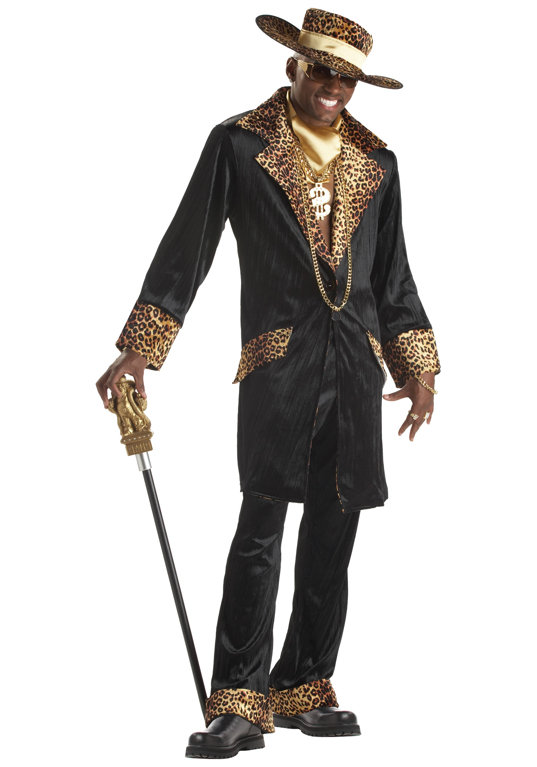 Supa Mac Daddy Pimp Costume  sc 1 st  Halloween Costumes & Funny Halloween Costumes For Men u0026 Women