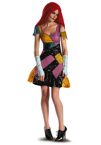 Click Here to buy Sally Glam Plus Size Costume from HalloweenCostumes, USA Funds & Shipping