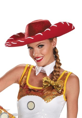 Click Here to buy Jessie Glam Hat and Bow Set from HalloweenCostumes, USA Funds & Shipping