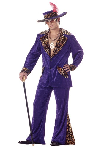 Purple Pimp Costume By: California Costume Collection for the 2015 Costume season.
