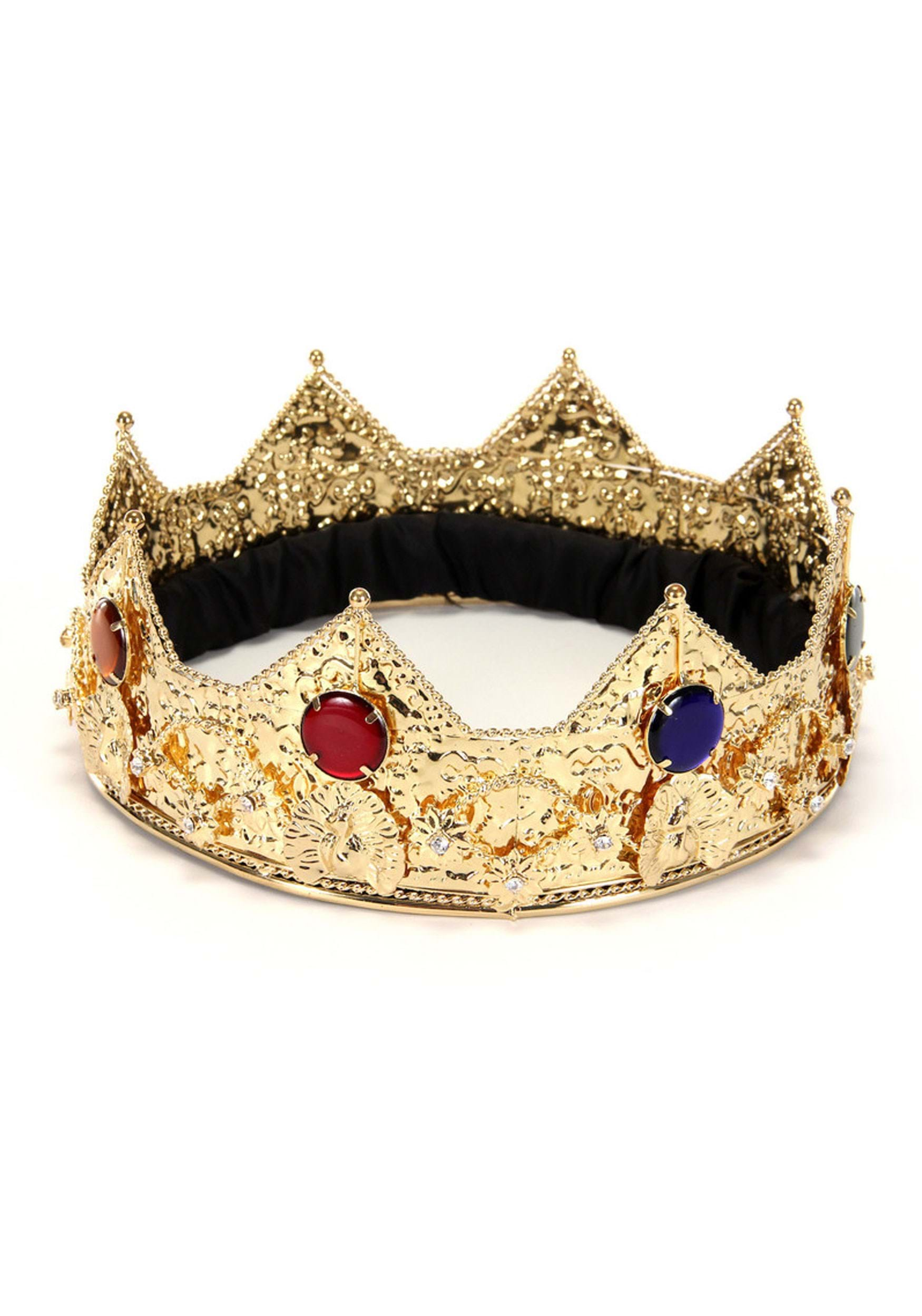 Http Www Halloweencostumes Com Gold King Crown Html