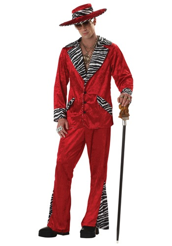 Click Here to buy Red Pimp Costume from HalloweenCostumes, CDN Funds