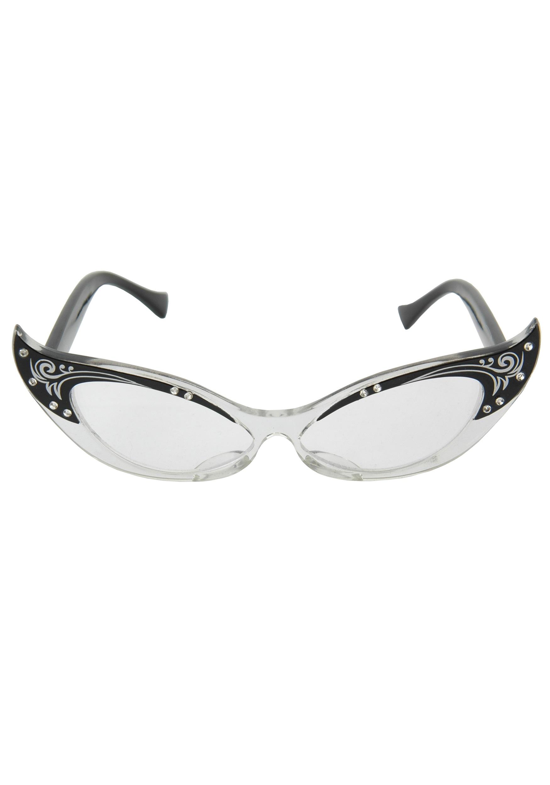 Vintage Cats Eye Glasses 85